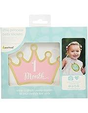 Pearhead Monthly Milestone Photo Blanket and Newborn Photo Props Keepsake Set