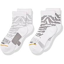 adidas Boy's Youth Creator Quarter Socks (Pack of 2)
