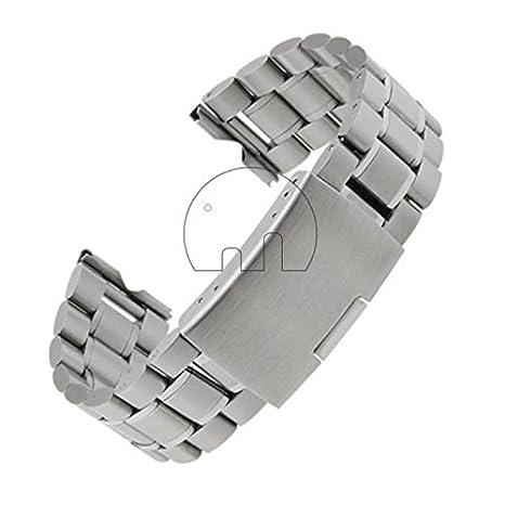 GoldenTrading 22mm acero inoxidable reloj banda correa para reloj inteligente de Motorola Moto 360 + herramientas: Amazon.es: Bricolaje y herramientas