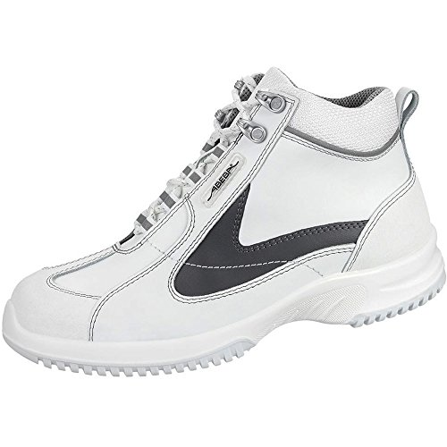 Abeba 1790-35 Uni6 Chaussures de sécurité bottes Taille 35 Blanc/Gris