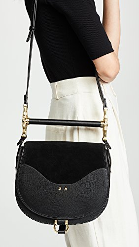 Bar Babylon Women's Bag Suede Black SANCIA 678Zqwf