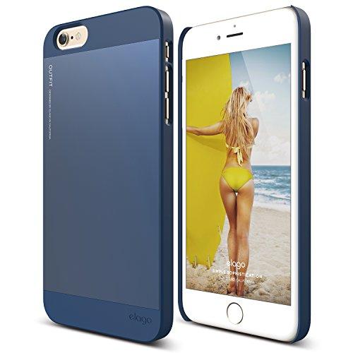 elago [Outift][Jean Indigo] - [Premium Hybrid Construction][Dual Toned][Spark Design Award] - for iPhone 6/6S Plus