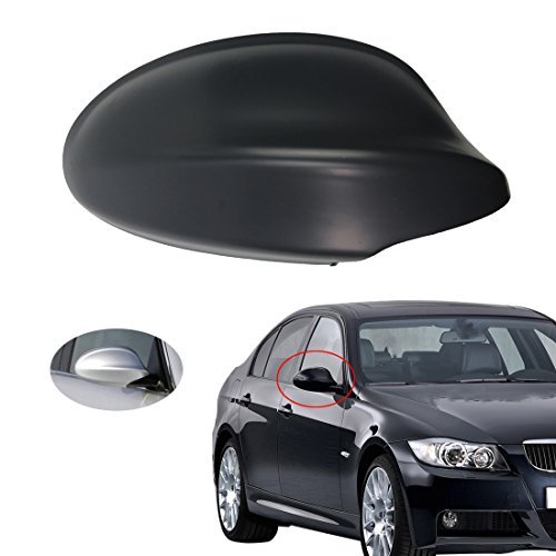 (Free2choose Right Side Mirror Cover for 3-Series E90 E91 325i 328i 330i Sedan 2005-2008 )