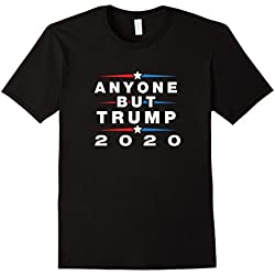 Mens Anyone But Trump 2020 - Anti Trump Election Shirt 3XL Black