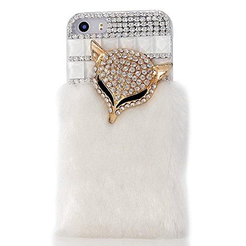 EVTECH (TM) 3D Bling Strass Cover Couronne Impériale et Bling Crystal Etui Housse pour Iphone 5C Hard Case