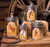 Horse Country Tin Canisters Set of 4