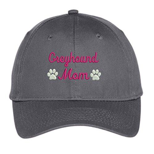 - Lane Weston Greyhound Mom Baseball Hat Embroidered Unisex Unstructured Low Profile Cap