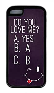 iPhone 6 4.7 Case, Do You Love Me Case for iPhone 6 4.7 TPU Material Black