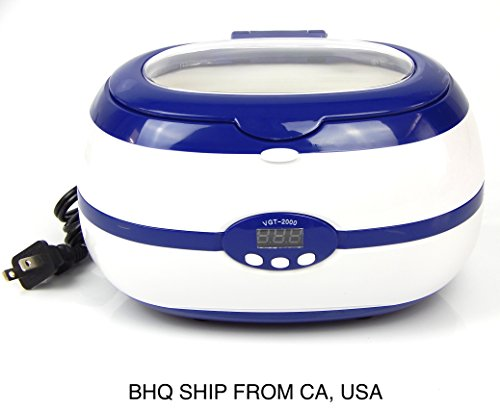 NEW Digital Ultrasonic Cleaner 0.6 Liters 600ml Capacity / Tattoo Equipment by Beauty Headquarters