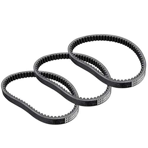 - 3PCS Go-Kart Drive Belt For 30 Series Replaces Manco 5959 & Comet 203589 Black New