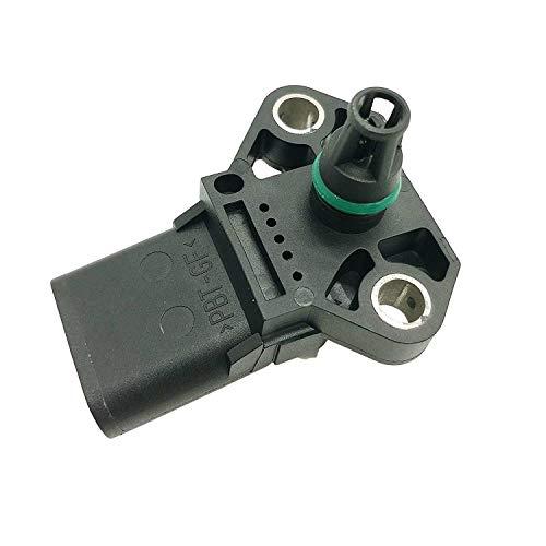 3 Bar Boost Pressure MAP Sensor for Audi Q7 TT Quattro VW Beetle Golf Jetta Passat Touareg TDI - Sensor Map Bar 3 Boost