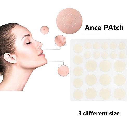 Aolvo Acne Pimple Patch, Acne Patch Set 24H Acne & Skin Tags Removal Set (24 PCS)