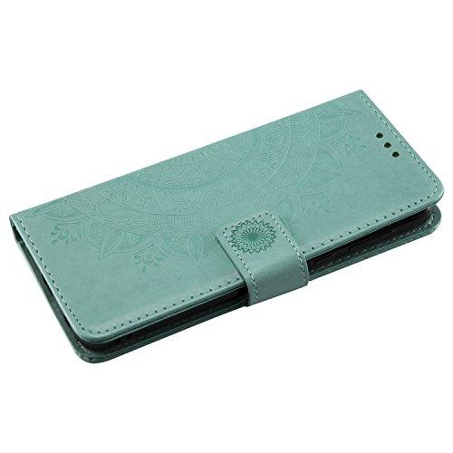 Motorola G6 Chiusura Carta G6plus Viola Pelle Cover Porta Lomogo Plus fiore Moto Credito Per Con In Magnetica Portafoglio Di Lohha10755 Verde Custodia Totem nSZZ7Uwqx