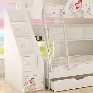 qq返利物_【迪士尼】酷漫居儿童家具公主俏佳人高低床梯柜/储物柜长宽高
