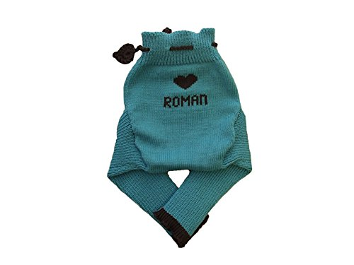 Personalized Merino Wool Baby Cloth Diaper Cover Soaker L...