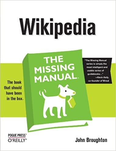 Wikipedia the missing manual 0636920515166 reference books wikipedia the missing manual 1st edition fandeluxe Choice Image