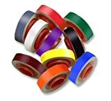 3M Scotch Code Wire Marker Tape Refill Roll SDR-MC, Black, Blue, Brown, Green, Gray, Orange, Red, Violet, White, Yellow