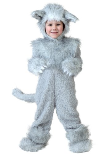Little Boys' Wolf Costume 4T -
