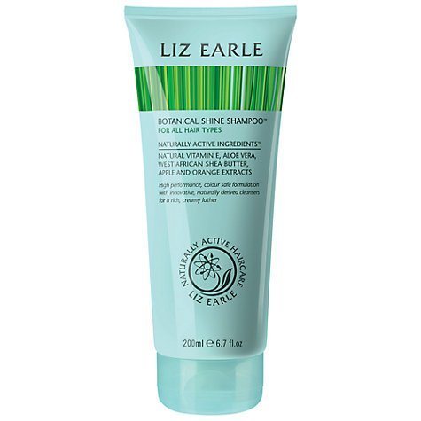Liz Earle Botanical Shine ShampooTM, 200ml leave hair soft, shiny and smooth/gently cleans without stripping by Liz Earle