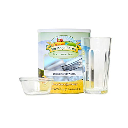 Saratoga Farms Dehydrated Water in #10 Can - Funny Gag Gift / White Elephant -
