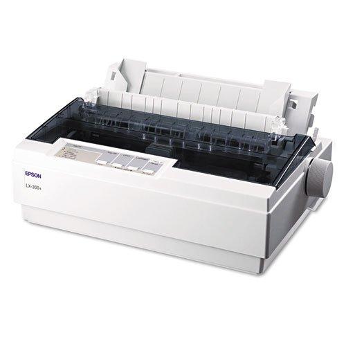 LX-300+ II 300cps 9-pin Parallel Standard Monochrome Dot Matrix Printer