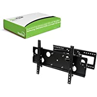 NavePoint Dual Arm Full Motion Wall Mount Bracket for Samsung UN55HU7250 Curved 55-Inch TV