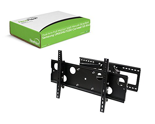 dual arm motion wall mount