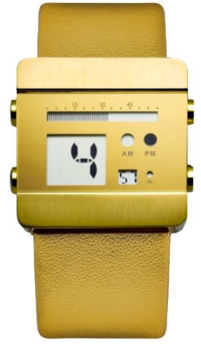 NOOKA ZOO gold leatherZOO GOLD L