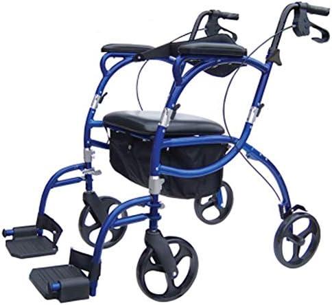 高齢者用歩行器調節可能ハンドル折りたたみ式ローラー歩行器、正と負のオールドウォーカーオールドウォーカー折りたたみ式は、車椅子高齢者カ