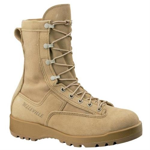 Belleville New Made in US 790 G GI Desert Tan Military Army Combat Waterproof Goretex Temperate Flight Boot (9 W)