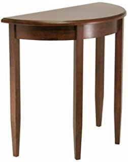 Winsome Wood Concord Half Moon Table