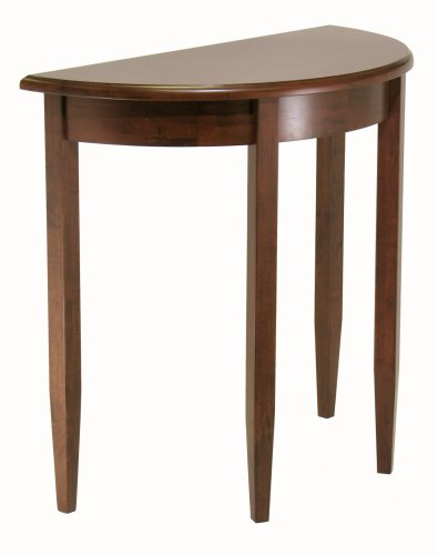 Winsome Wood Concord Half-Moon Table (Half Moon Wood Table)