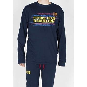 Pijama Fc Barcelona invierno adulto talla XL - XL  Amazon.es  Deportes y  aire libre 6b01505ca50