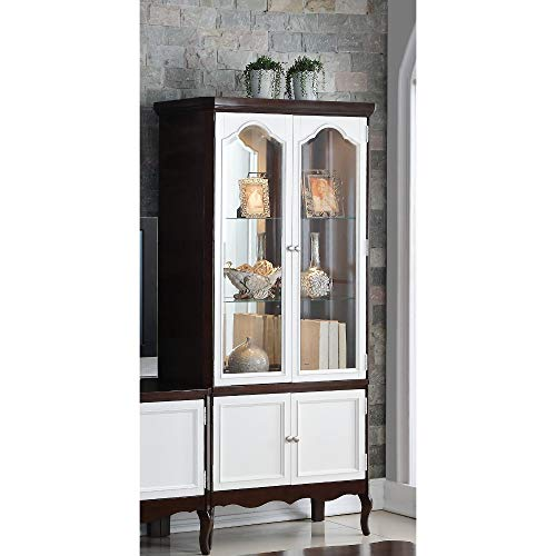ACME Mathias Curio, Walnut & White Traditional/Walnut & White/