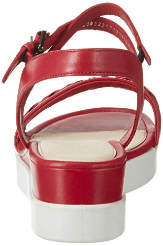 1466chili Sandalias Ecco Red Mujer Sandal Rot Plateau Touch RwRfqzpY6