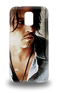 New Super Strong Johnny Depp American Male John Christopher Depp Pirates Of The Caribbean Tpu 3D PC Case Cover For Galaxy S5 ( Custom Picture iPhone 6, iPhone 6 PLUS, iPhone 5, iPhone 5S, iPhone 5C, iPhone 4, iPhone 4S,Galaxy S6,Galaxy S5,Galaxy S4,Galaxy S3,Note 3,iPad Mini-Mini 2,iPad Air )