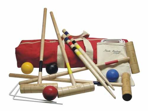 Rockport Croquet Set By North Meadow by North Meadow Croquet