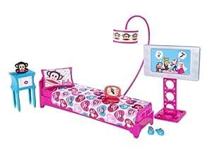 barbie loves paul frank bedroom playset
