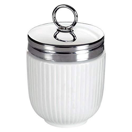The DRH Egg Coddler With White Stripes is Used As an Egg Coo