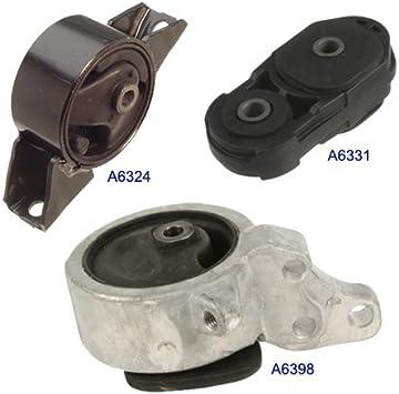 Engine Motor /& Manual Transmission Mount Set for 1995-1998 200SX 2.0L