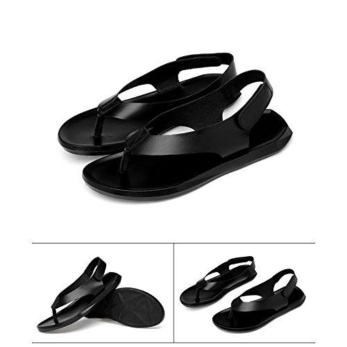 Sandali per uomo traspirante antiscivolo Xiaoqin in attivit traspirante in casual adatta per pelle traspiranti pelle dwPqOA
