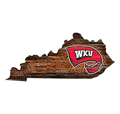 Fan Creations Western Kentucky Cutout Sign (State), Multi
