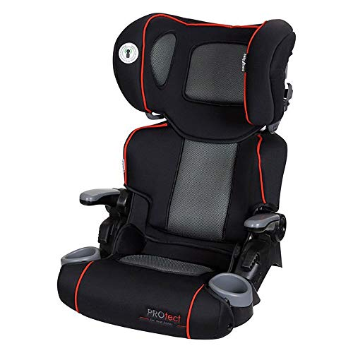 Baby Trend HB38199 Protect Series Yumi Folding High Back Booster Car Seat, Titan