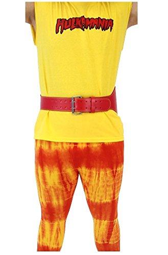 Hulkamania-Hulk-Hogan-Costume-Wrestling-Weight-Belt