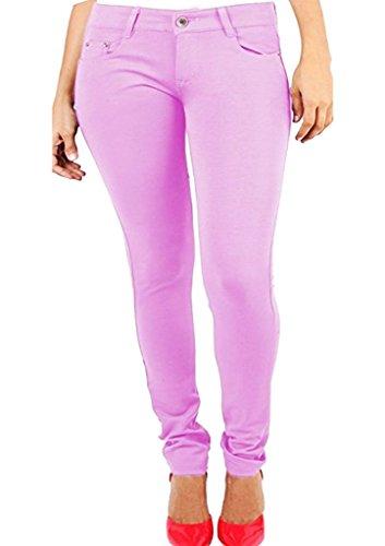 Vaqueros Mujer rosa Fashions pastel SA para 1TBwn8aBq