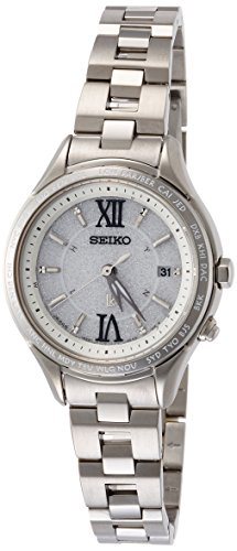 Seiko LUKIA Comfotex Radio Wave Control Solar World Time Ladies Watch SSVV011 (Japan Import)