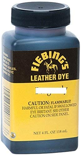 Fiebing's Leather Dye w/Applicator 4 oz. (Medium Brown) (Furniture Mn Repair)