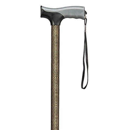 Soft Grip Derby Foot Cane in Arizona Bronze