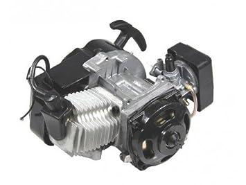 Motor de bolsillo para bicicleta de 49 cc, incluye cable de embrague + filtro de aire + embrague, 3,5 cv, adecuado para Quad: Amazon.es: Coche y moto