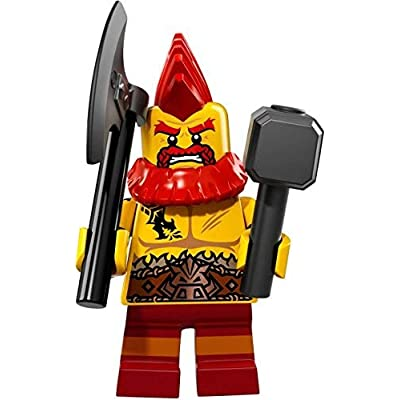 LEGO Collectible Minifigure Series 17 - Battle Dwarf (71018): Toys & Games